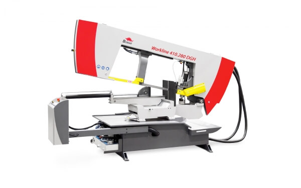 Bomar Workline DGH félautomata szalagfűrész